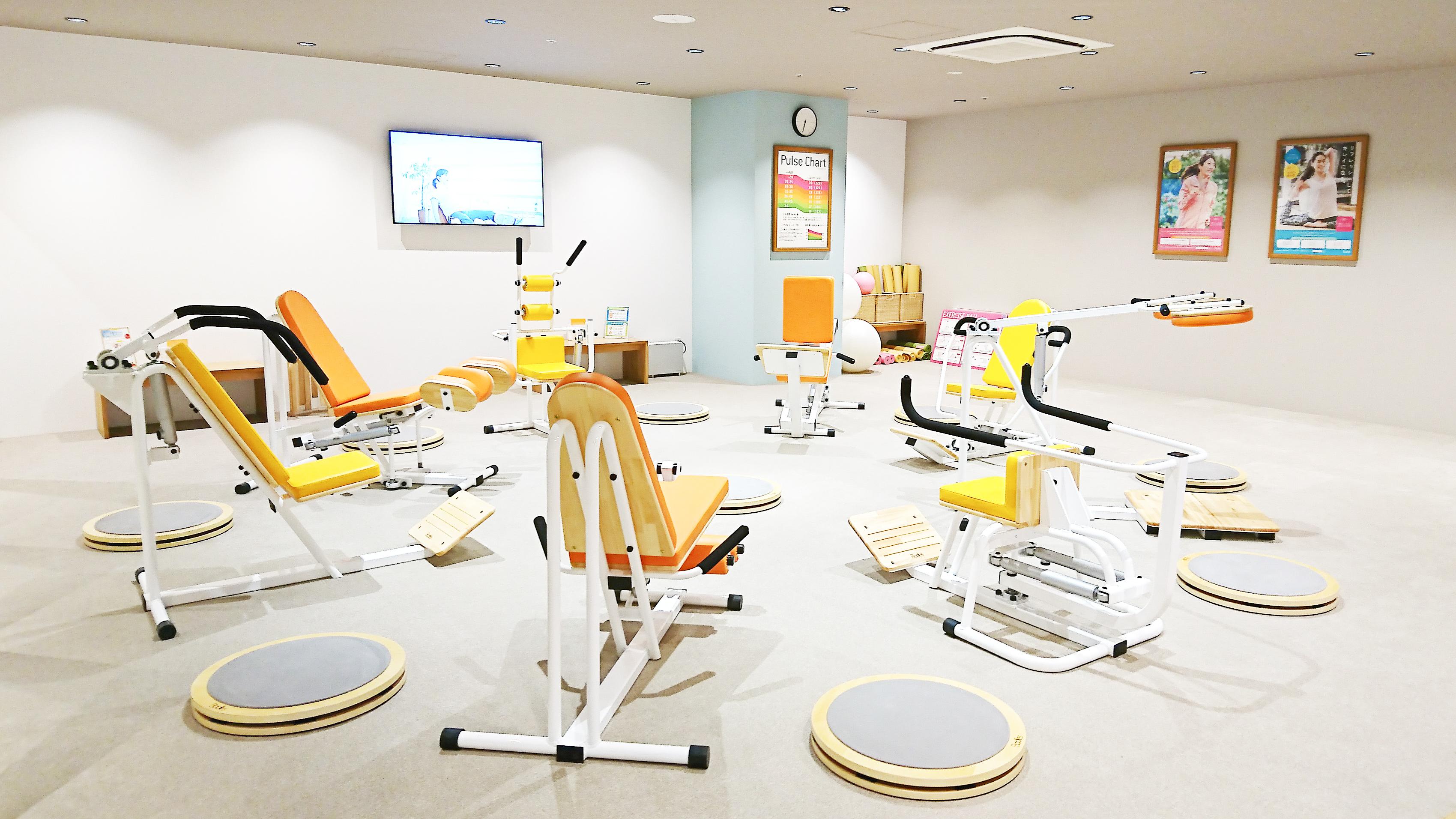 静岡パルシェトレーニングジム