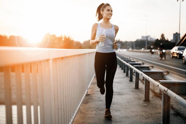 お腹を引き締める有酸素運動2【ランニング】