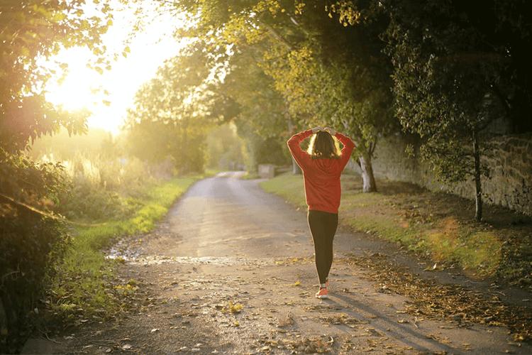 外での運動も再開!基礎代謝を上げる有酸素運動がおすすめ